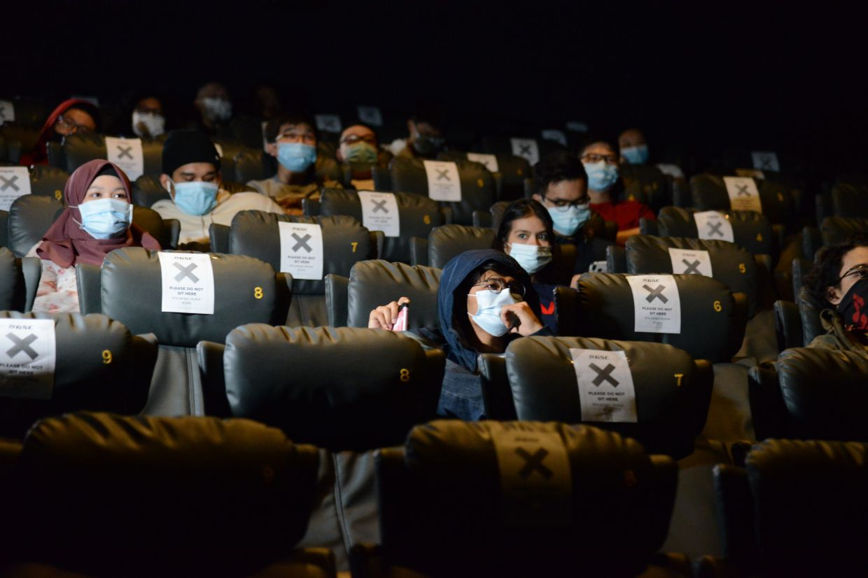 Cinemas allowed to resume operations in Malaysia