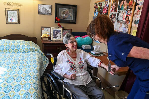 High Staff Turnover at U.S. Nursing Homes Poses Risks for Residents' Care