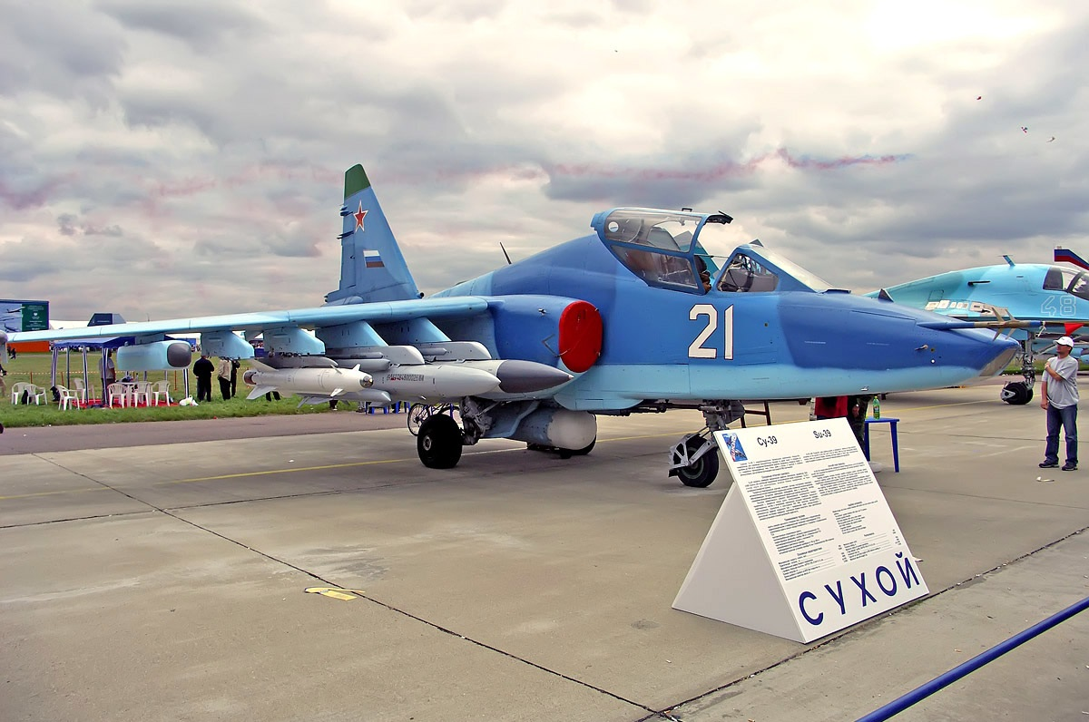 原创 苏-39攻击机有多强?火力强大的低空杀手,装甲部队的劲敌!