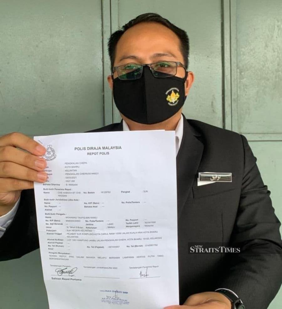 Kelantan govt lodges police report over 'queue-jumping' claims