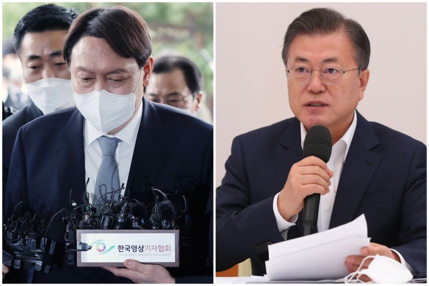 South Korea's top prosecutor resigns in fight with President Moon over investigative powers
