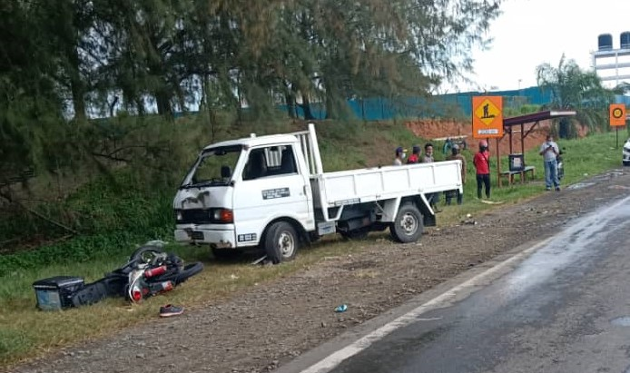Food delivery rider dies after accident