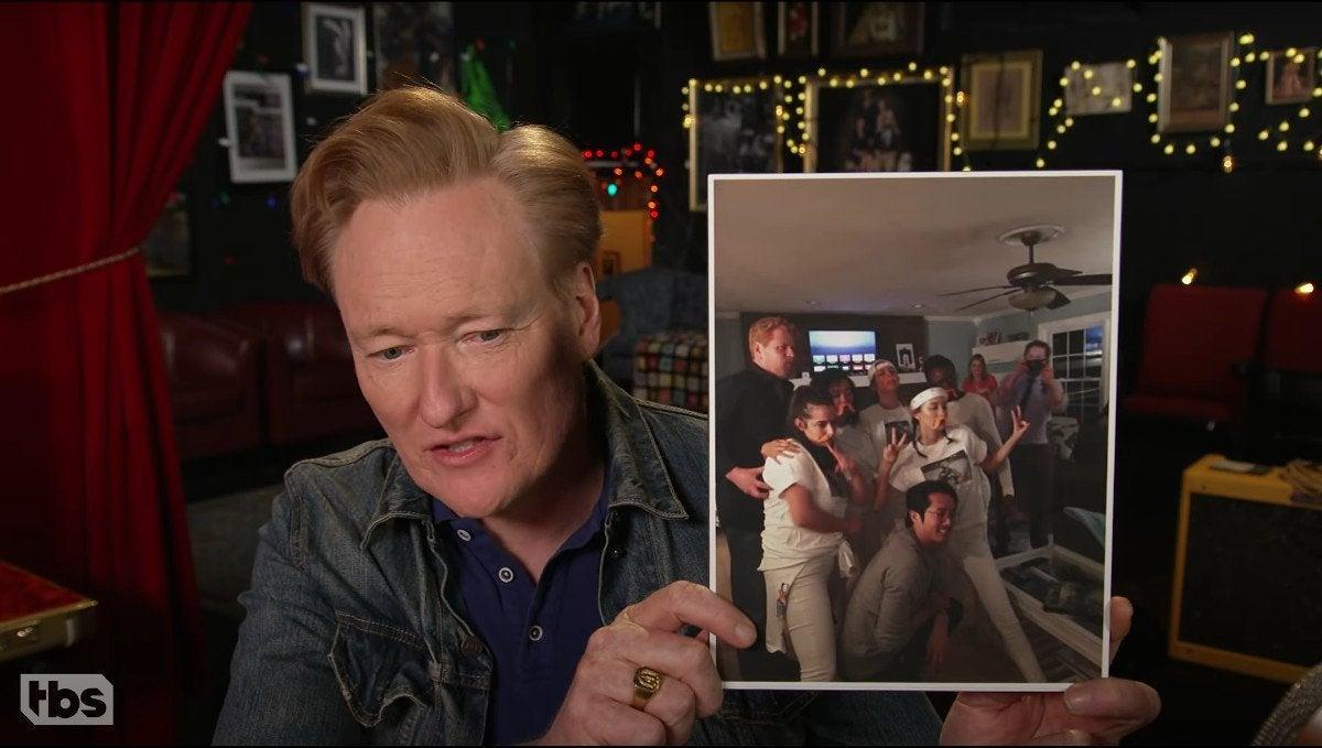 The Walking Dead's Lauren Cohan Reveals Photo From Glenn and Abraham's Death Dinner