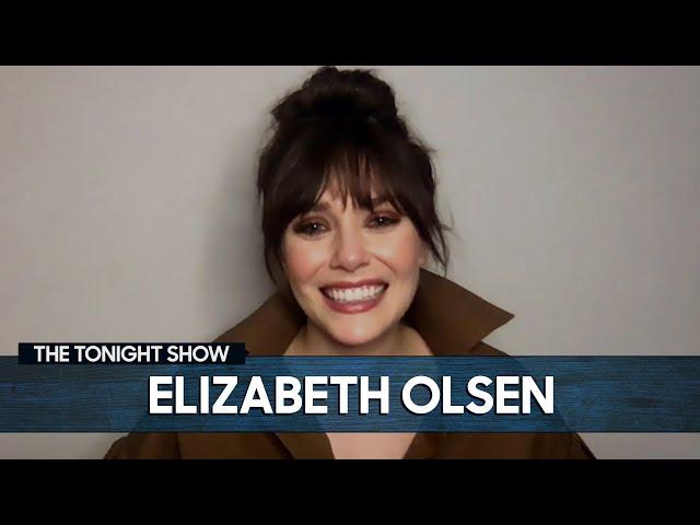 Elizabeth Olsen Reacts to WandaVision Memes | The Tonight Show Starring Jimmy Fallon