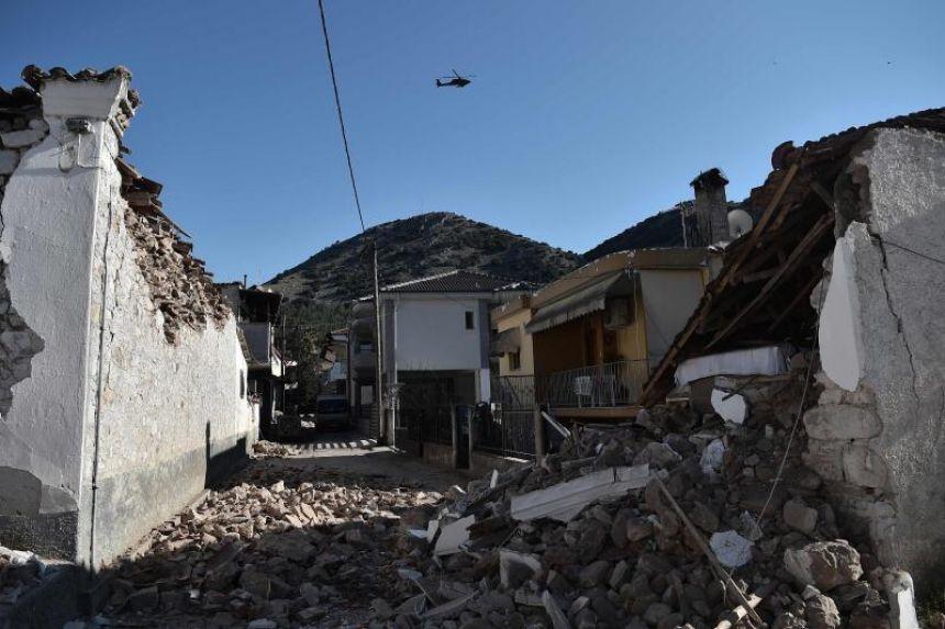 Greece assesses damage from 6.3-magnitude quake