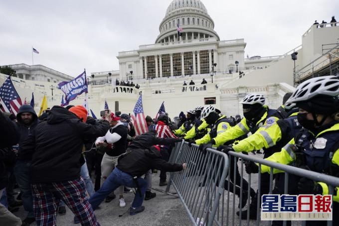美国警方指有情报显示国会山庄近期或再遭冲击