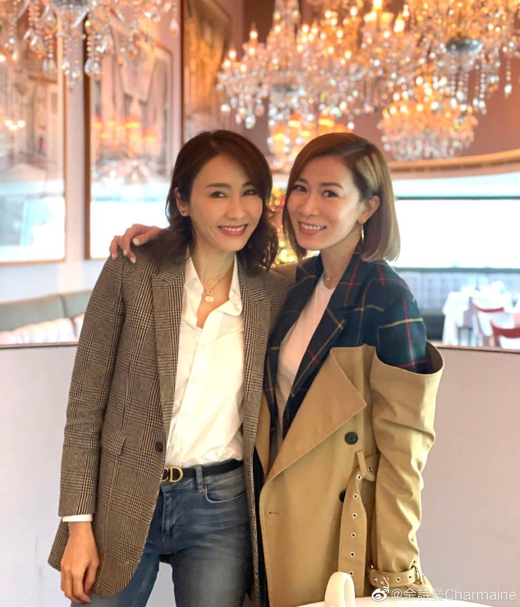Charmaine Sheh And Gigi Lai Reunite 17 Years After TVB's War And Beauty