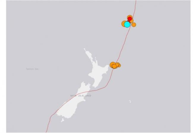 新西兰3连震:最大8.1 海啸范围遍及太平洋 远及日本