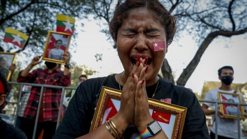 The grit and determination of Myanmar's young rebels