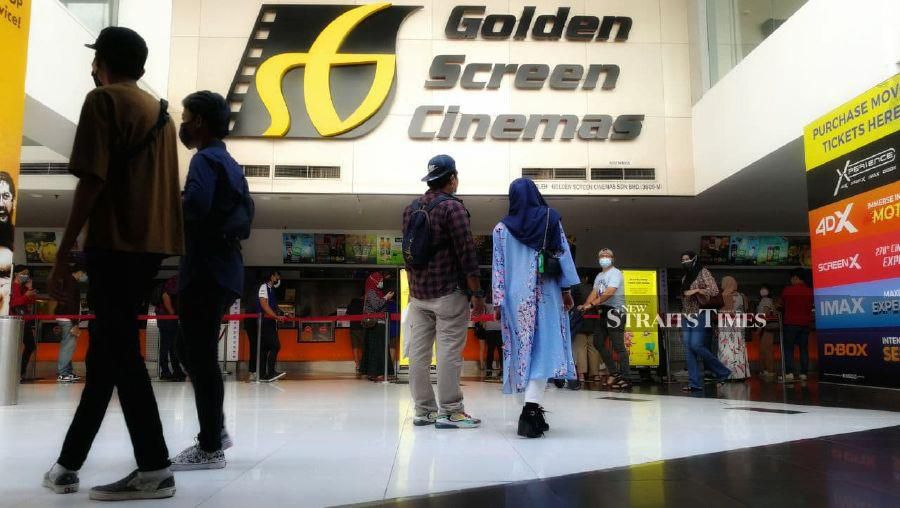 Moviegoers stream back to cinemas after MCO is lifted