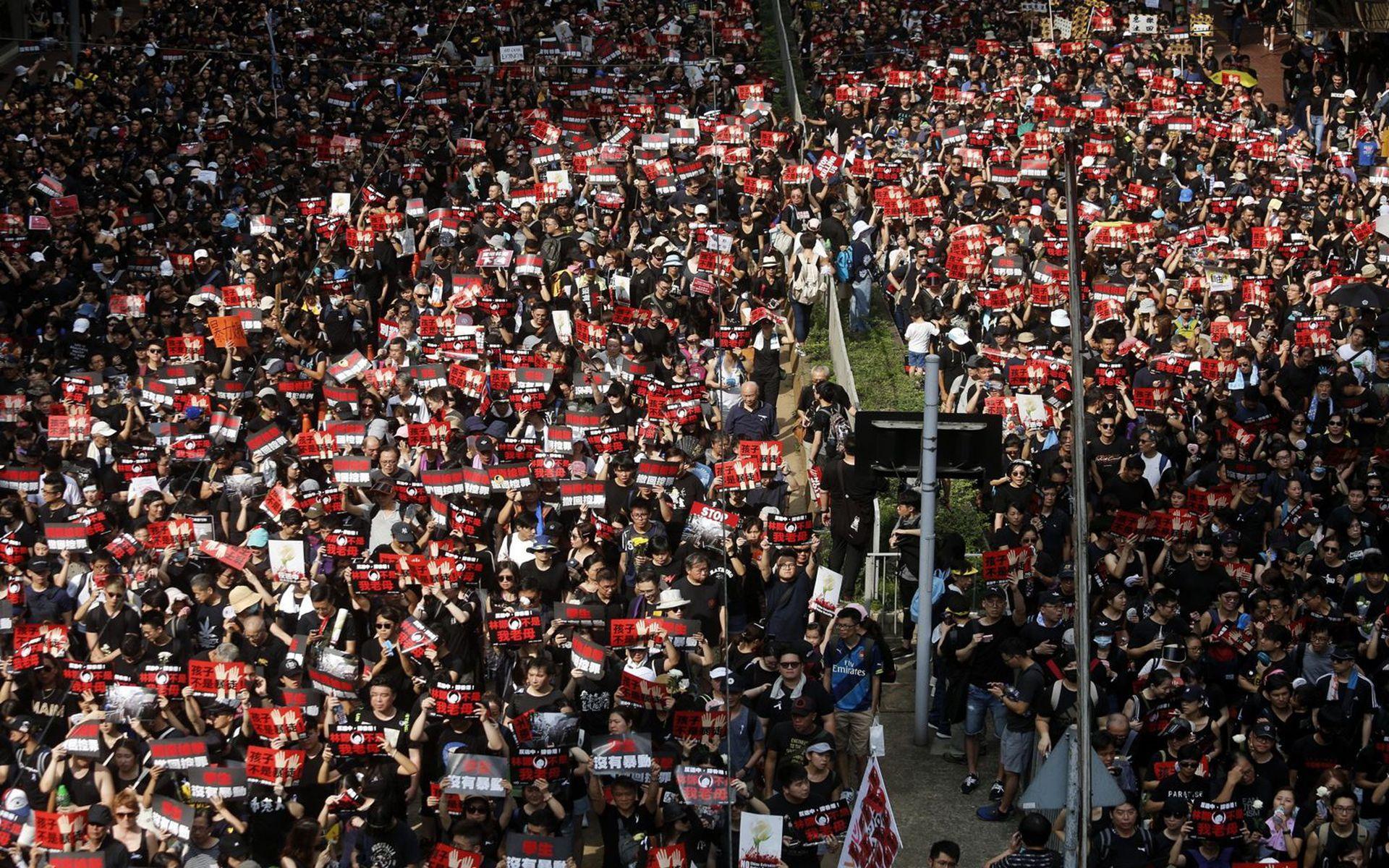 涉违港版国安法,香港民阵遭官方调查或很快被取缔(图)