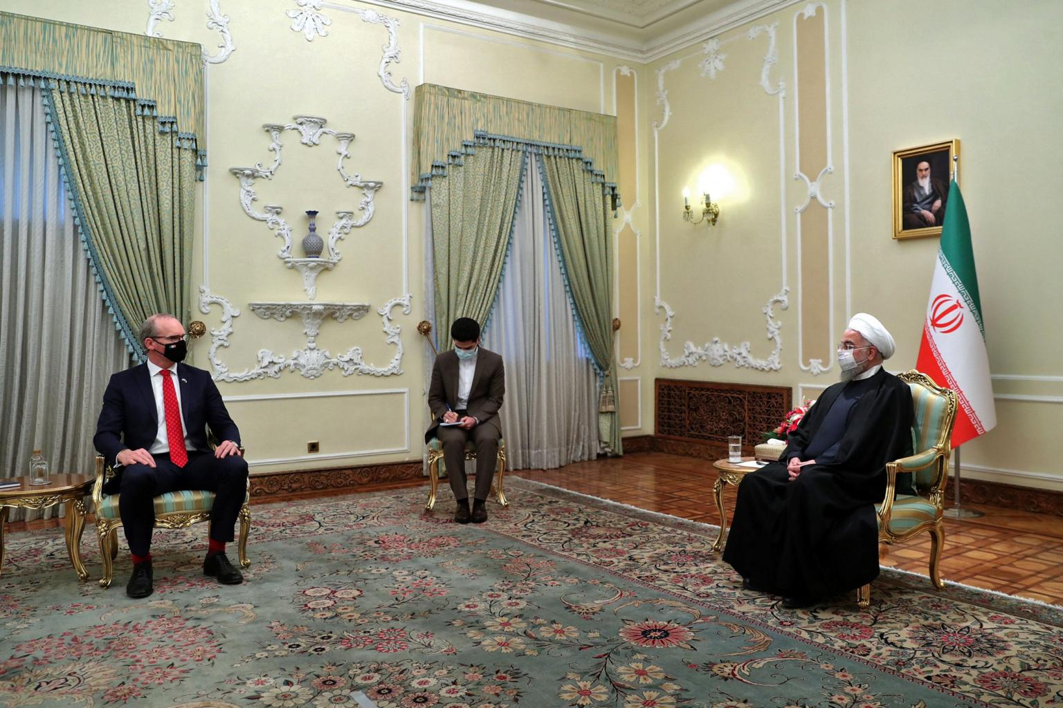 Iran president Rouhani urges Europe to avoid threats or pressure over nuclear deal
