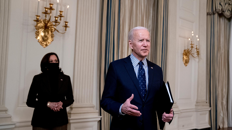Here's How the Senate Pared Back Biden's Stimulus Plan