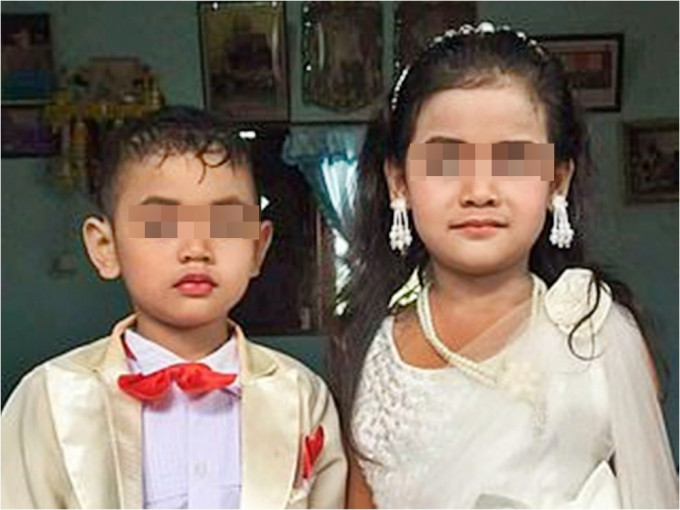 为消除前世「业障」 泰父母替5岁龙凤胎举行婚礼