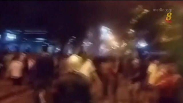 数百名示威者抗议巴拉圭政府防疫不足