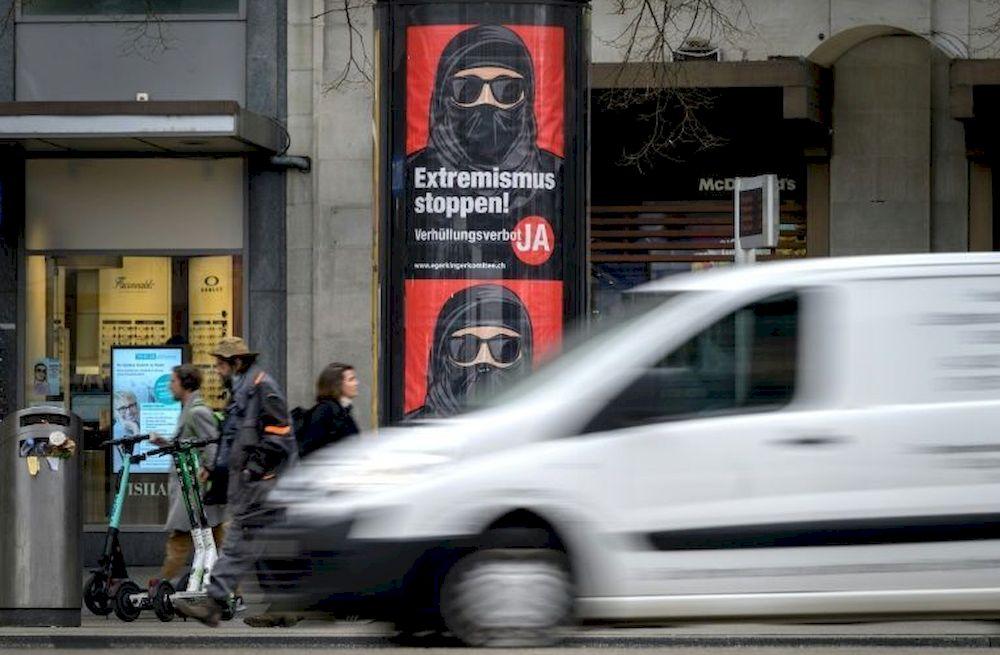 Swiss vote on 'burqa ban'