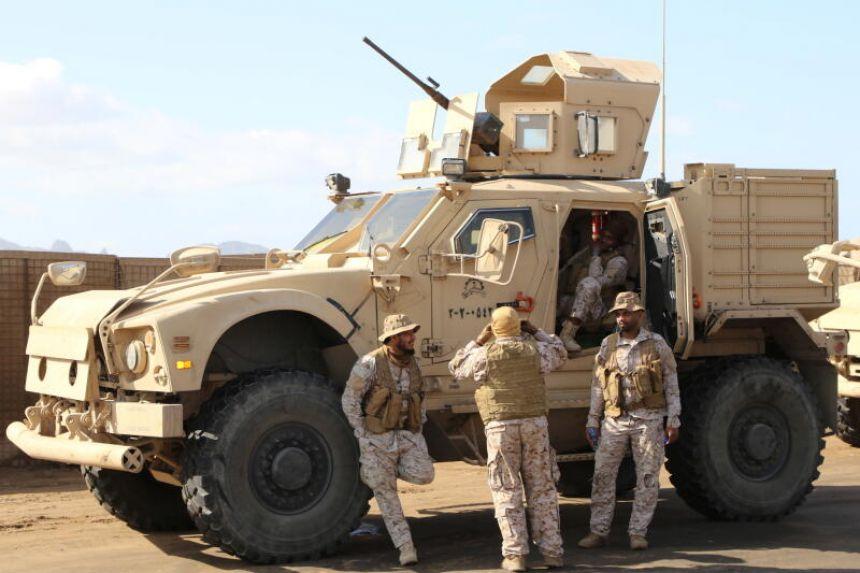 Saudi-led coalition destroys five Houthi drones, say Saudi TV channels