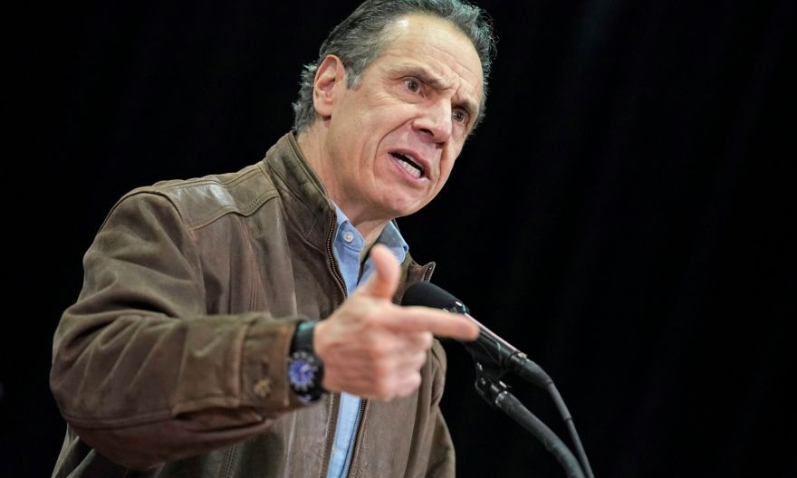 Top New York Democrats urge governor Andrew Cuomo to resign over sexual harassment scandal