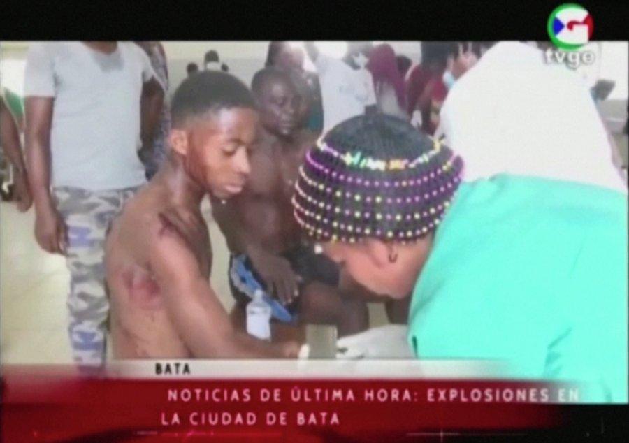 赤道几内亚军营爆炸 逾15死500伤