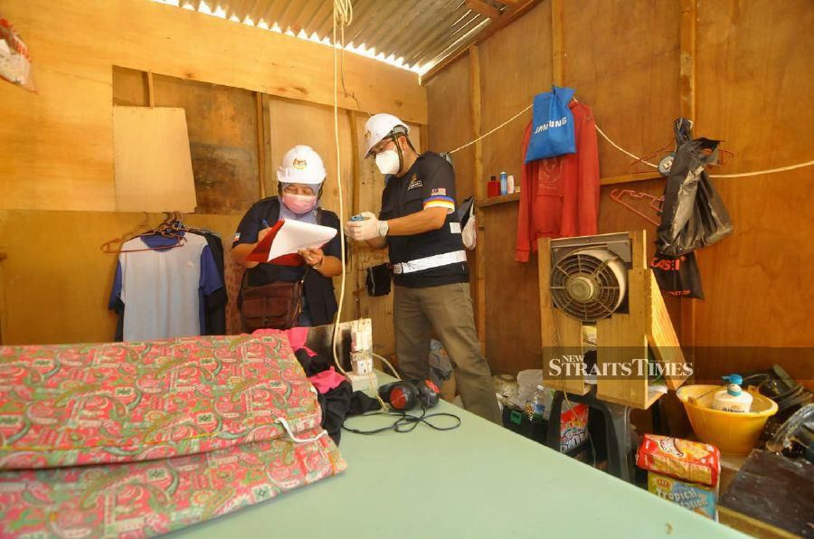 Sabah inspects 618 hostels for construction site workers