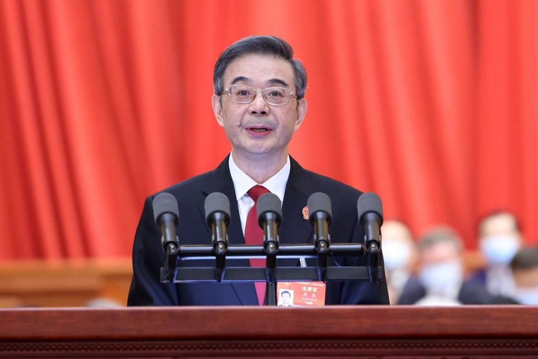 China makes strides in cutting violent crime, enforcing IP rights, National People's Congress is told