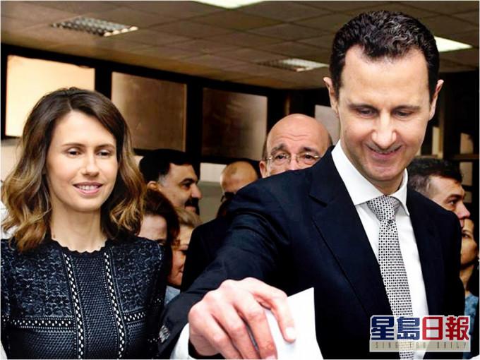 叙利亚总统夫妇确诊新冠肺炎