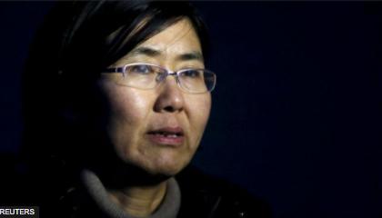 """""""中国最勇敢的女律师""""王宇获颁美国国际妇女勇气奖(图)"""