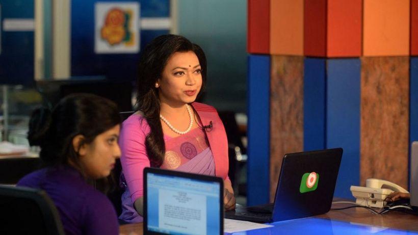 Bangladesh's first transgender news reader makes debut
