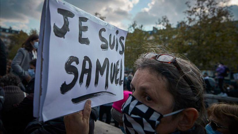 Samuel Paty: French schoolgirl admits lying about murdered teacher