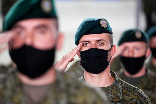 Kosovar Peacekeepers Sent On First Mission Abroad