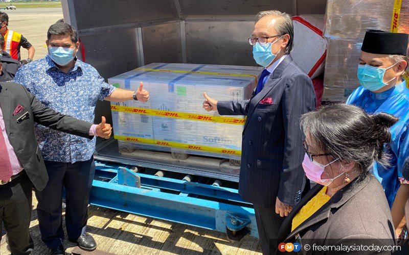First batch of Covid-19 vaccine arrives in Sabah