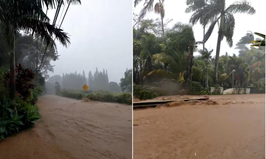 """Hawaii dam that overflowed was in """"unsatisfactory"""" condition, set for removal 2021"""