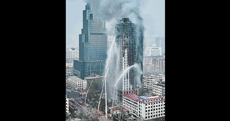 河北26层高楼起火无人伤