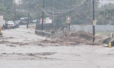 25年来罕见大雨 夏威夷毛伊岛水坝溃决