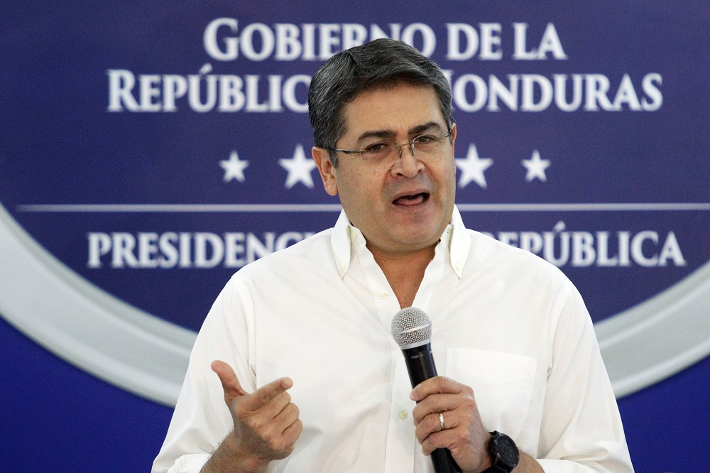 President of Honduras helped smuggle tonnes of cocaine into US, say prosecutor