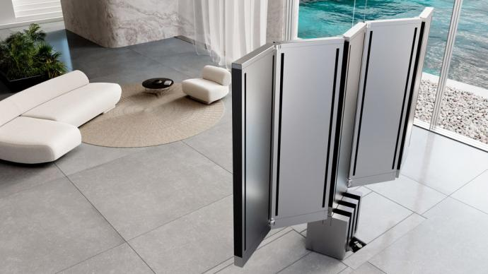 全球首款165寸 折叠电视亮相