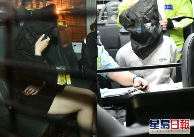 警青衣截获毒品快餐车 司机及女乘客被捕