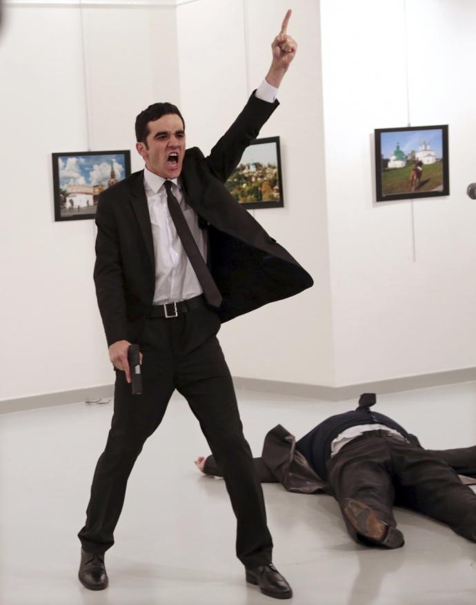 警射杀俄罗斯大使案 土耳其判5人囚终身