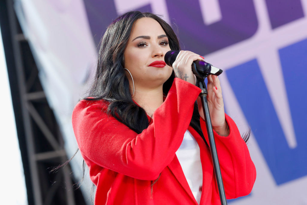 """Demi Lovato Explained How Her Past Drug Use Was A """"Coping Mechanism"""" That """"Saved Her Life"""""""