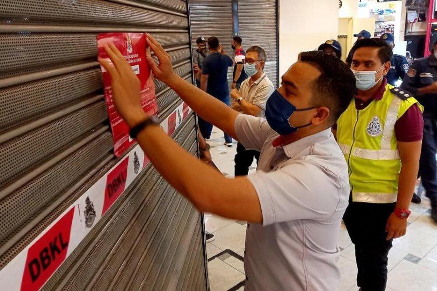 隆市政局取缔非法劳工 10商家被开罚单