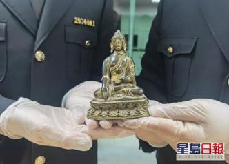 杭州机场海关查获清代龙袍 申报为「棉质刺绣女装上衣」