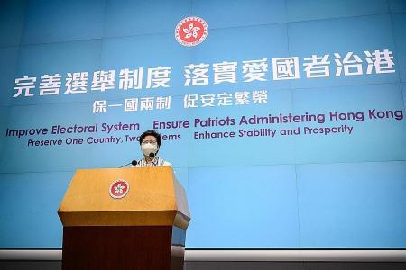 China grants itself power to veto Hong Kong's electoral candidates