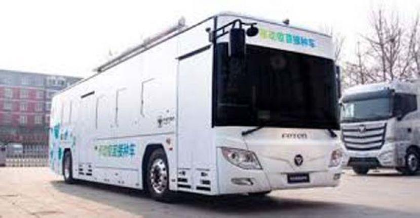 中首款流动疫苗接种车 下月北京河北等地使用