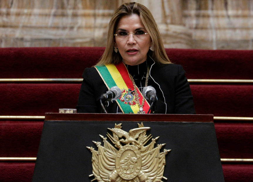 Bolivian ex-president Anez arrested over 2019 'coup' that ousted Morales