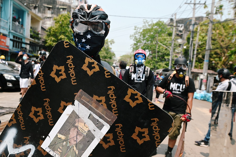 Call for fresh anti-coup protests in Myanmar as US and allies vow to restore democracy