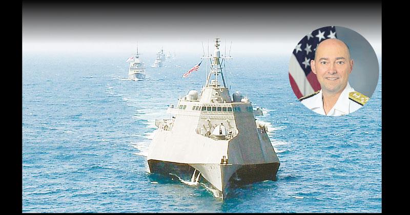 日美澳印联法抗中 拟4月举行5国海上军演
