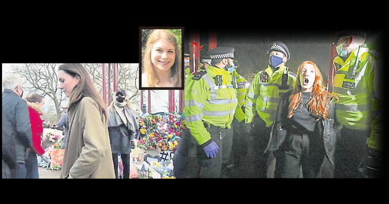 伦敦警杀害夜归女 凯特到场献花悼念