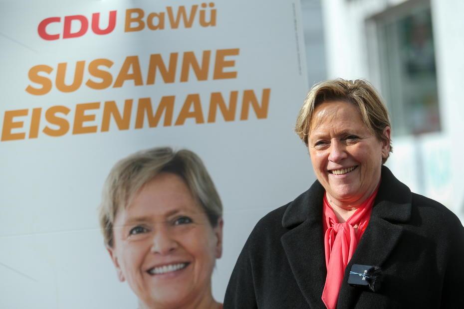 German regional elections present crunch test for Merkel's party