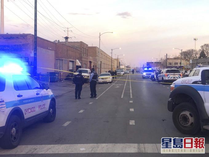 美国芝加哥派对发生枪击案 最少2死13伤