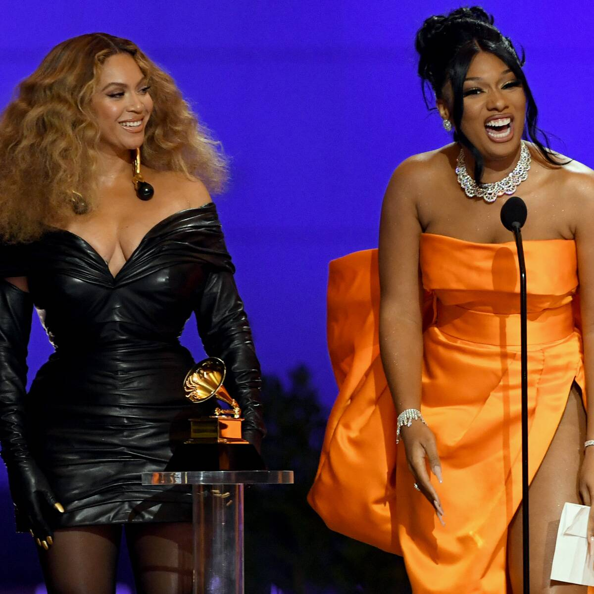 Beyoncé and Megan Thee Stallion's Acceptance Speech Is the Best Thing to Happen to the 2021 Grammys